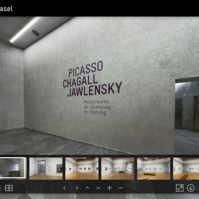 Kunstmuseum Basel - Picasso, Chagall und Jawlensky