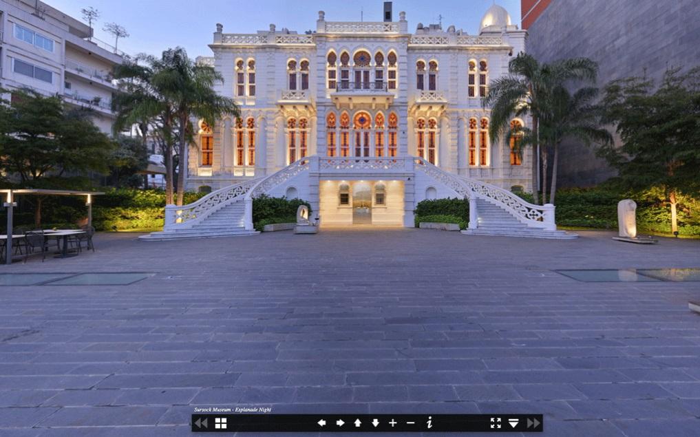 Vor der Explosion - Das Sursock Museum in Beirut