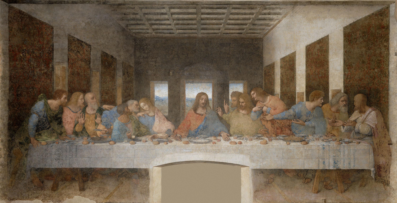 "Digitalisierung von ""L'Ultima Cena"" (Leonardo da Vinci)"